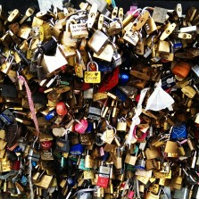 """Love Locks"" (Pont des Arts Bridge, Paris, France, 2013)"