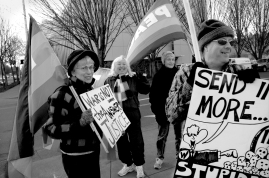 Iraq War Protest (Eugene OR, 2007)