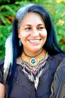 Navajo Roberto Garcia of the Me-Wuk tribe