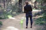 Laurel and Kermit. (Davis CA, 2015)