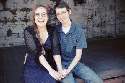 Laurel and her boyfriend. (Davis CA, 2015)