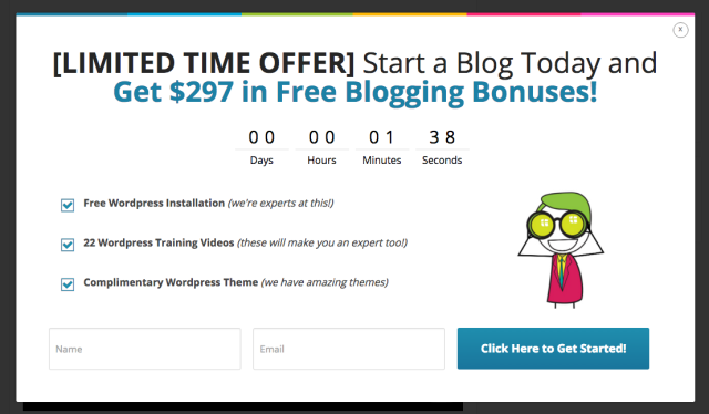 Blogging.com CTA